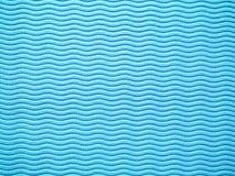 Yoga mat texture. Blue yoga mat texture background stock image