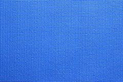 Blue Yoga Mat texture Royalty Free Stock Photos