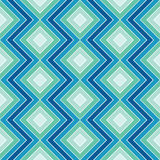 Blue zigzag Stock Photos