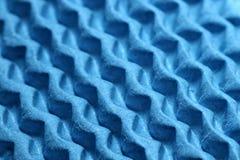 Blue zigzag texture Stock Image