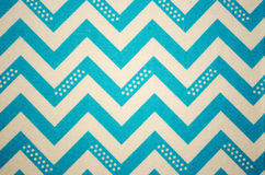 Blue ZigZag Royalty Free Stock Photography