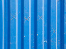 Blue Zinc surface. Close-up of Blue Zinc surface stock images