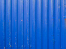 Blue zinc surface. Close-up of blue zinc surface royalty free stock image