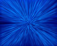 Blue zoom background Royalty Free Stock Photo