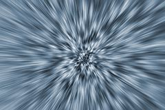 Blue zoom background Royalty Free Stock Photography