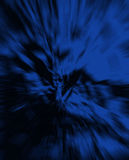 Blue Zoom Textured Abstract Background Stock Photography
