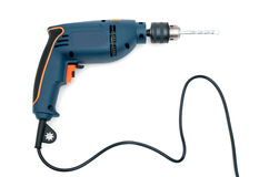 Blue_drill Stock Photography