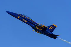Blueangels Fotos de Stock Royalty Free