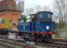 Bluebell 323 ατμομηχανή κατηγορίας Π Σιδηρόδρομος Bluebell στοκ φωτογραφία με δικαίωμα ελεύθερης χρήσης