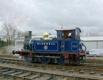 Bluebell 323 ατμομηχανή κατηγορίας Π Σιδηρόδρομος Bluebell στοκ εικόνα με δικαίωμα ελεύθερης χρήσης