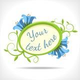 bluebell предпосылки флористический Стоковое Изображение