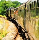Bluebell railway Stock Photo