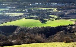 Bluebell wzgórze Fotografia Royalty Free