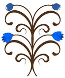 Bluebells ornament Royalty Free Stock Photography