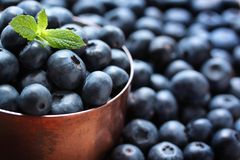 Free Blueberries Stock Photography - 22701832