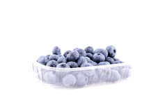 Blueberries. Isolated blueberries on white background Royalty Free Stock Photo