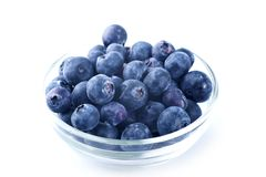 Blueberries Bowl Royalty Free Stock Photo