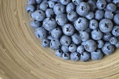 Blueberries  in a bowl Royalty Free Stock Photo