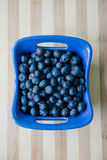 Blueberries in a bowl Stock Photography