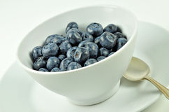 Blueberries in a Bowl Royalty Free Stock Image