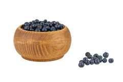 Blueberries in a bowl Royalty Free Stock Images