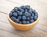 Blueberries in bowl Royalty Free Stock Photo