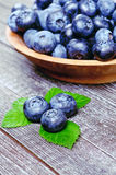 Blueberries Close up Stock Image