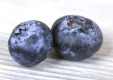 Blueberries close up. Blueberry on a gray background, fresh berries, dietary food Royalty Free Stock Photo