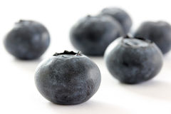 Blueberries Closeup Royalty Free Stock Photos