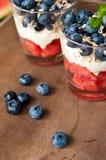 Blueberries dessert Royalty Free Stock Image