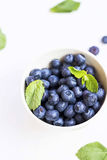 Blueberries fruits closeup Stock Photo