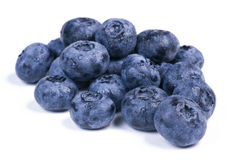Blueberries in a Group Royalty Free Stock Photos