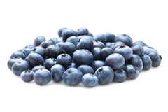Blueberries isolated on white background Stock Photos