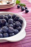 Blueberries in the kitchen Royalty Free Stock Image