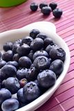 Blueberries in the kitchen Royalty Free Stock Images