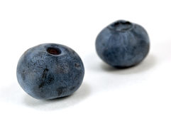 Blueberries macro Royalty Free Stock Images