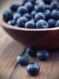 Blueberries. Macro shot of fresh Blueberries Stock Photo
