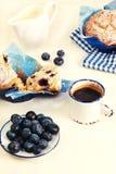 Blueberries muffins Stock Photo