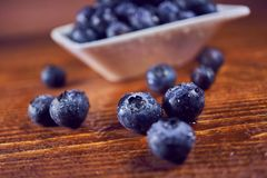 Blueberries natural antioxidant Stock Images