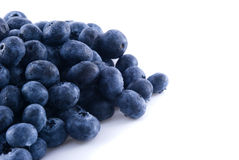 Blueberries in a pile Stock Photo