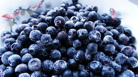 Blueberries in a plate. Food berry delicious tasty Stock Photo