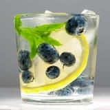 Blueberries summer lemonade Royalty Free Stock Images