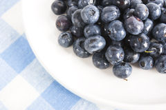 Blueberries on the Table Royalty Free Stock Image