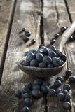 Blueberries on the table Royalty Free Stock Images
