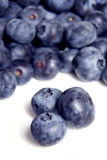 Blueberries, vertical Royalty Free Stock Photos