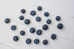 Blueberries on white background Stock Photography