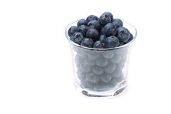Blueberry. Cooking ingredient series    blueberry. available for clipping work Stock Photo