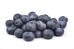 Blueberry. On a white background Royalty Free Stock Image