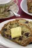 Blueberry banana bread Stock Photography