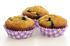 Blueberry banana muffins Stock Photography